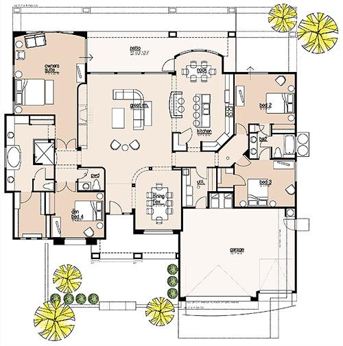 Plan 2873 Floor Plan