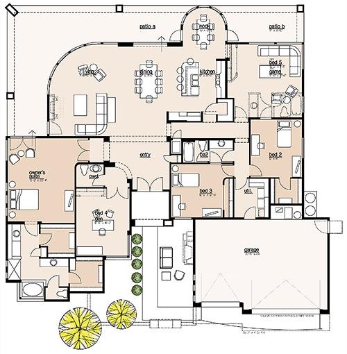 Plan 3194 Floor Plan