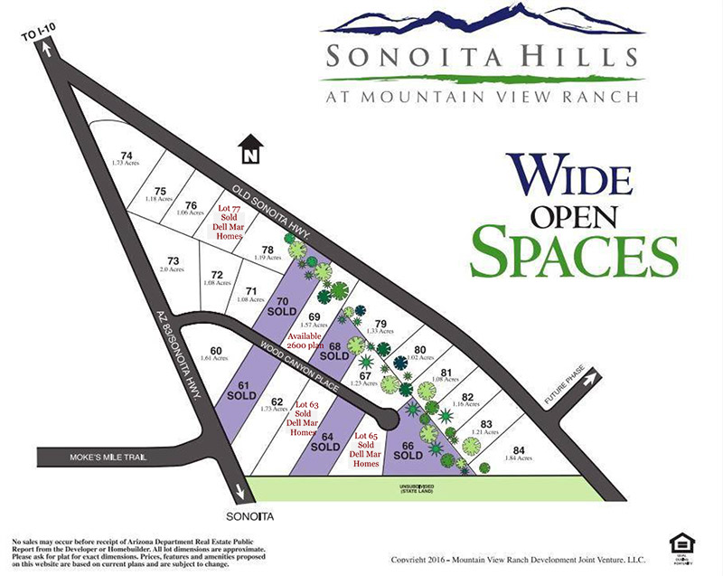 Sonoita Hills at Mountain View Ranch
